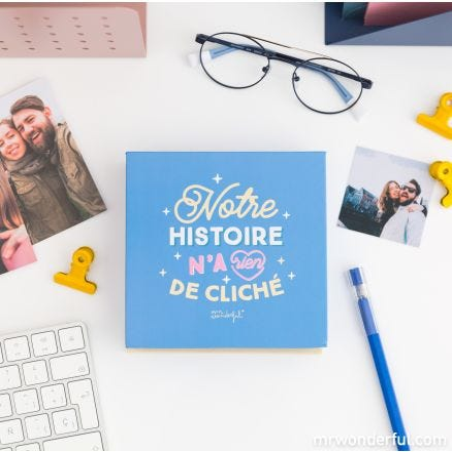 Boîte avec album photos - Moments qui n'appartiennent qu'à nous