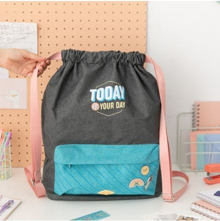 Mochila saco - Today is your day