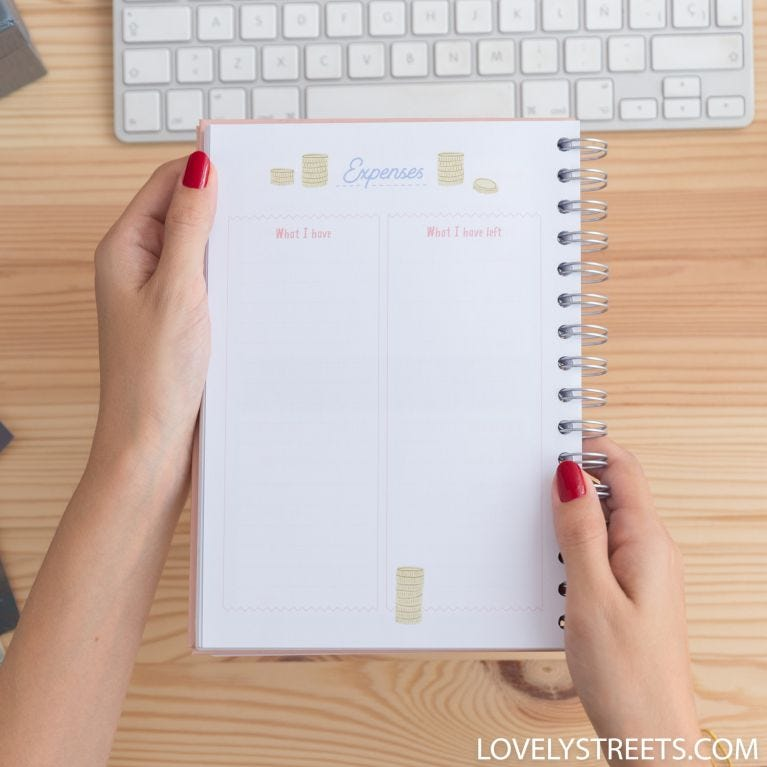 Lovely Streets planner - My plans and adventures adventures