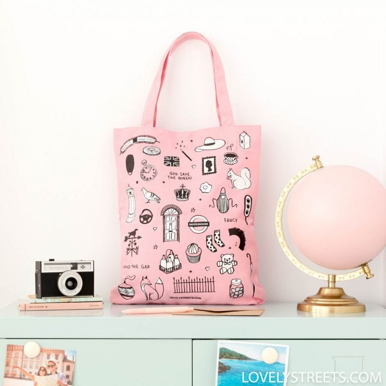 Tote bag London- Lovely Streets