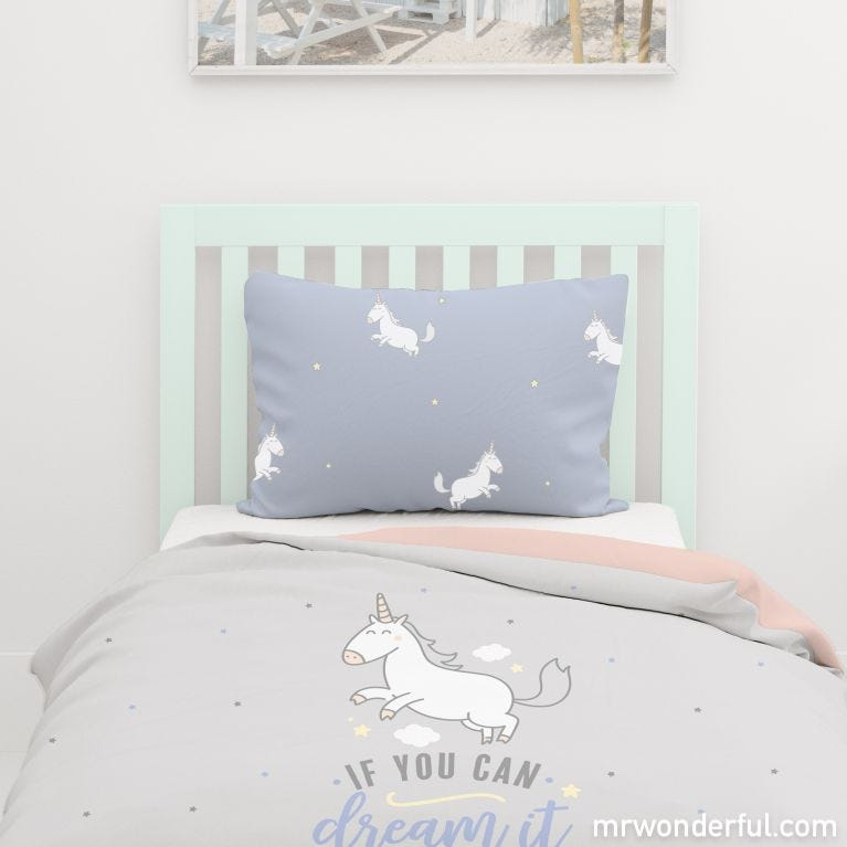 Duvet cover (size 90) - Have a great day