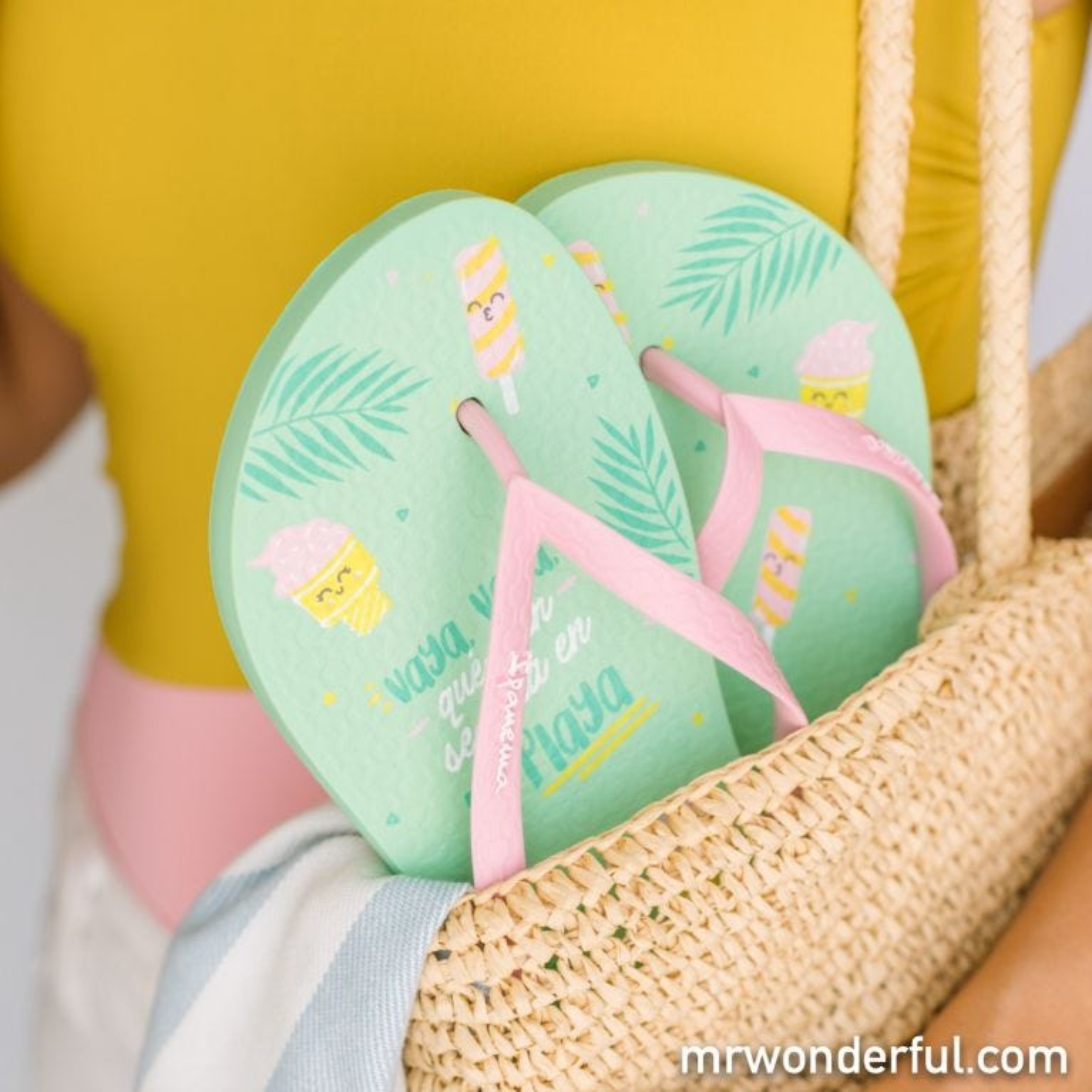 Ipanema flip flops - Mint Sea