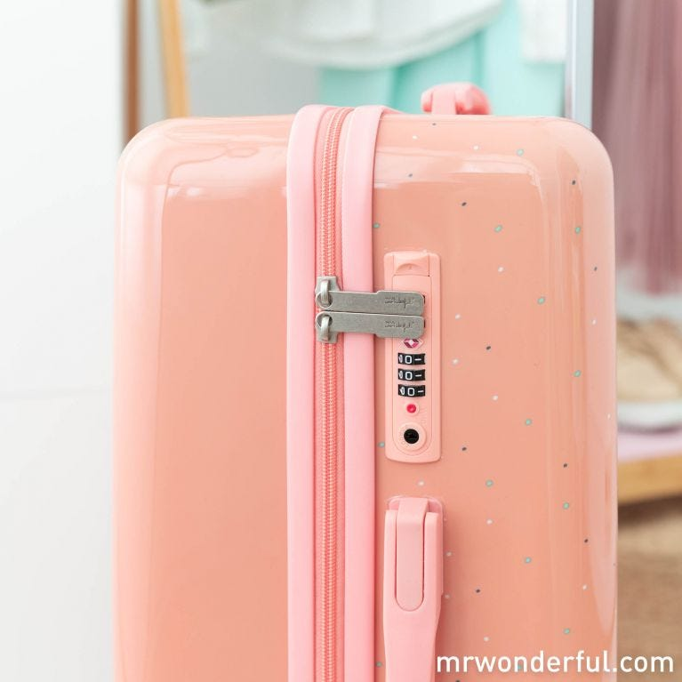 Small suitcase - Love at first flight
