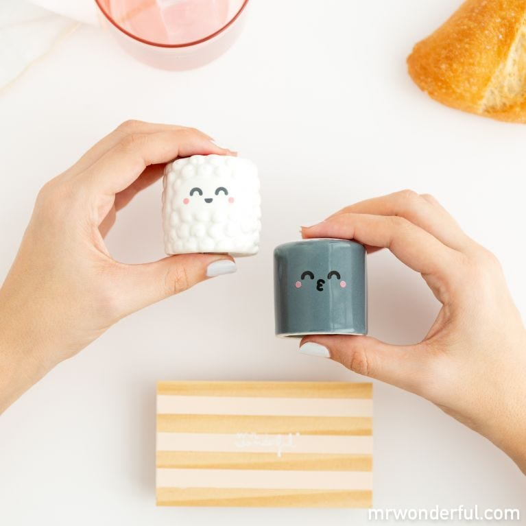 Salt and pepper shakers - Sushi