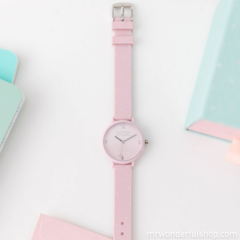 Watch Happy Hour - Pink & dots