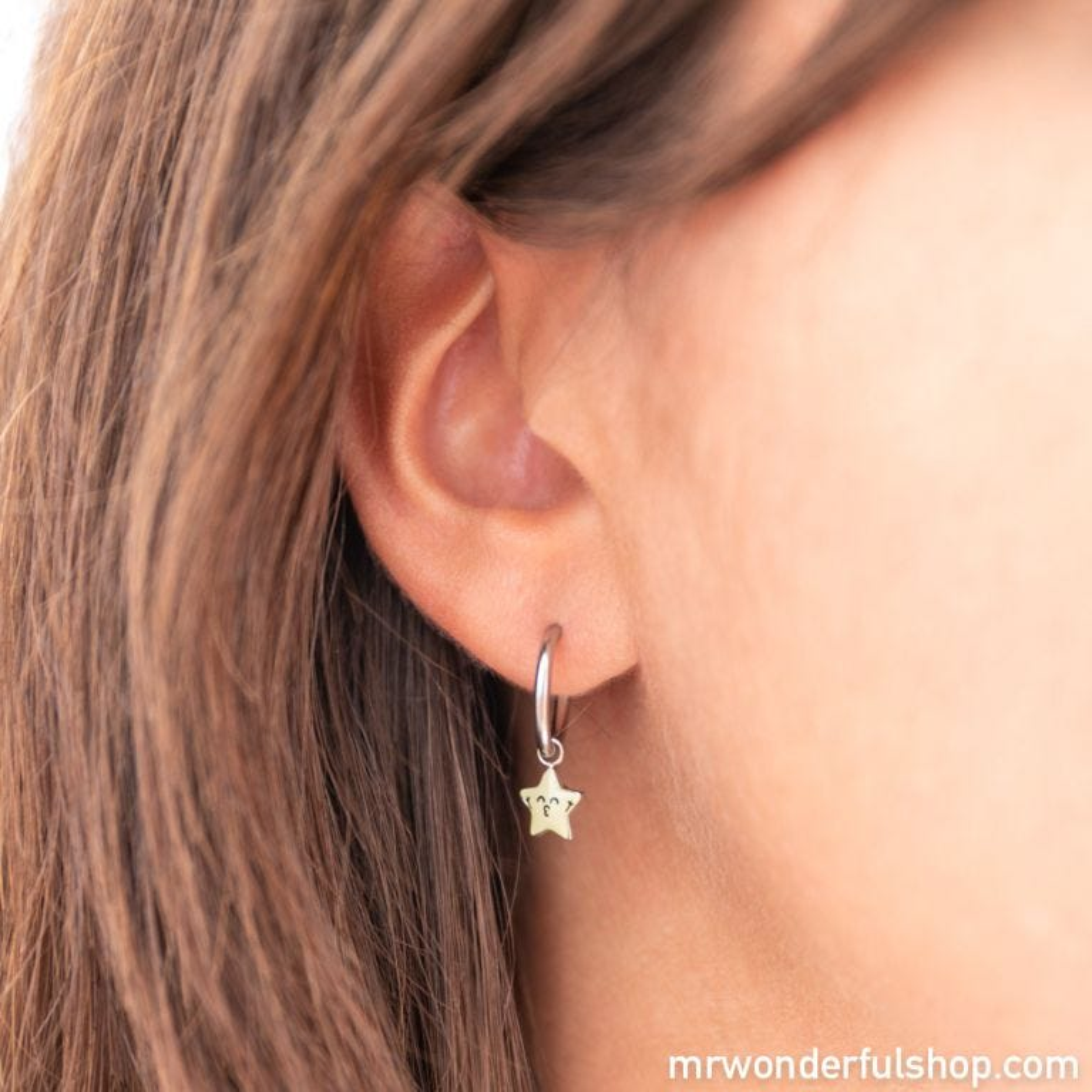 Space Vibes hoop earrings