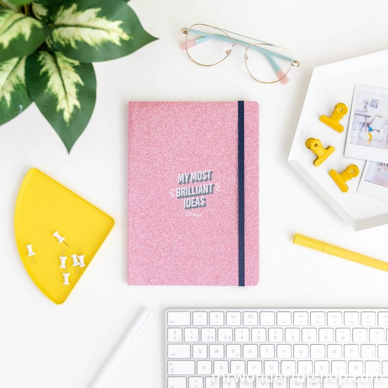Notebook - My most brilliant ideas