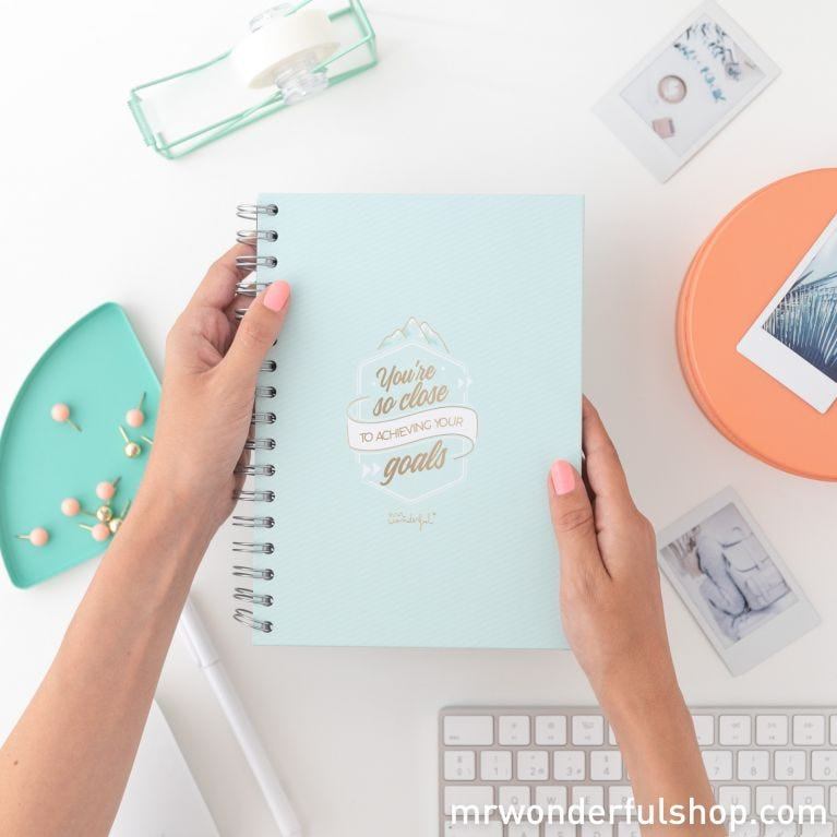 Notebook - You're so close to achieving your goals