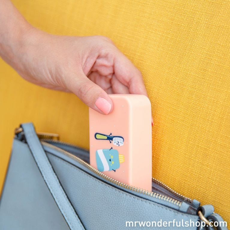 Toothbrush case - This level of cool is purely