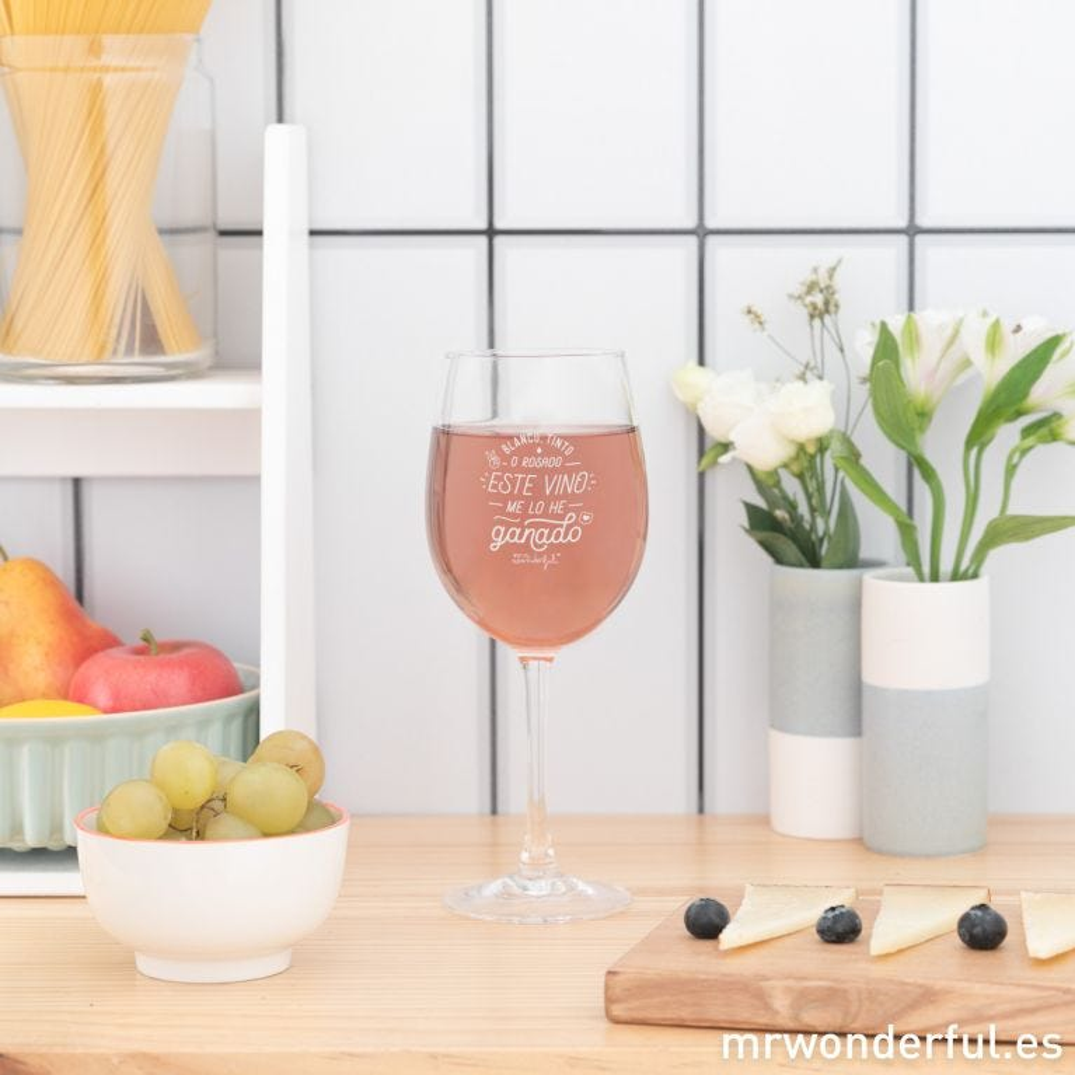 Copa de vino - Blanco, tinto o rosado, este vino me lo he ganado