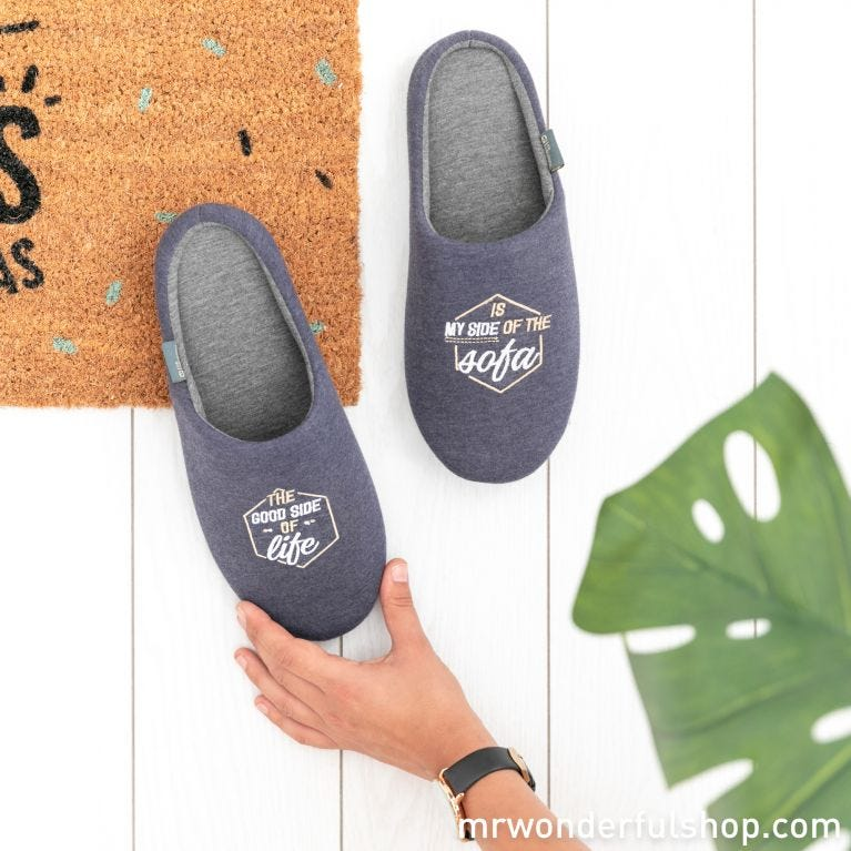 Slippers size 44-47 - The bright side of life