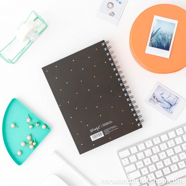 Notebook - Today will be the best day of the week