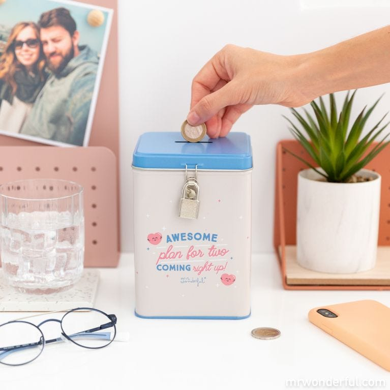 Money box - Awesome plan for two, coming right up!