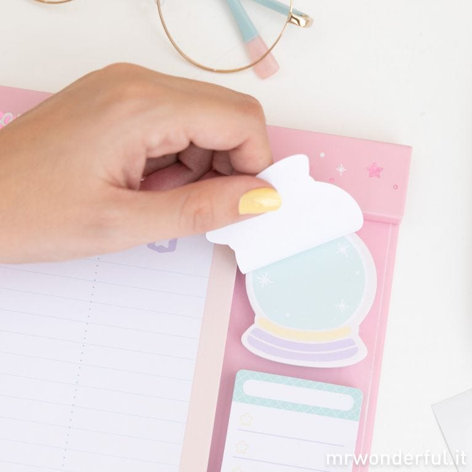 Planner con adesivi - Oggi non ci sarà nessuno che mi resista
