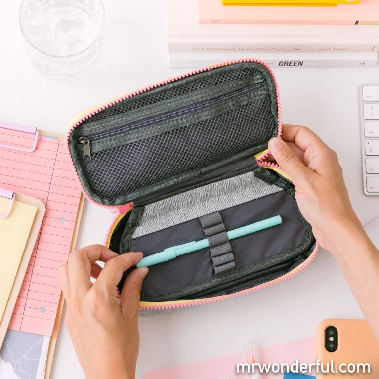 Pencil case - Today will be amazing
