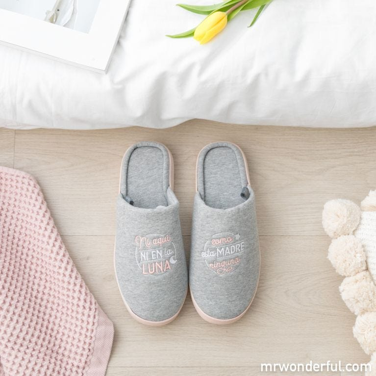 Zapatillas de casa - ¡Como esta madre, ninguna!