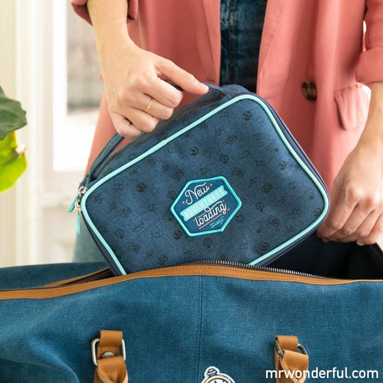 Cable organiser bag - New adventures loading