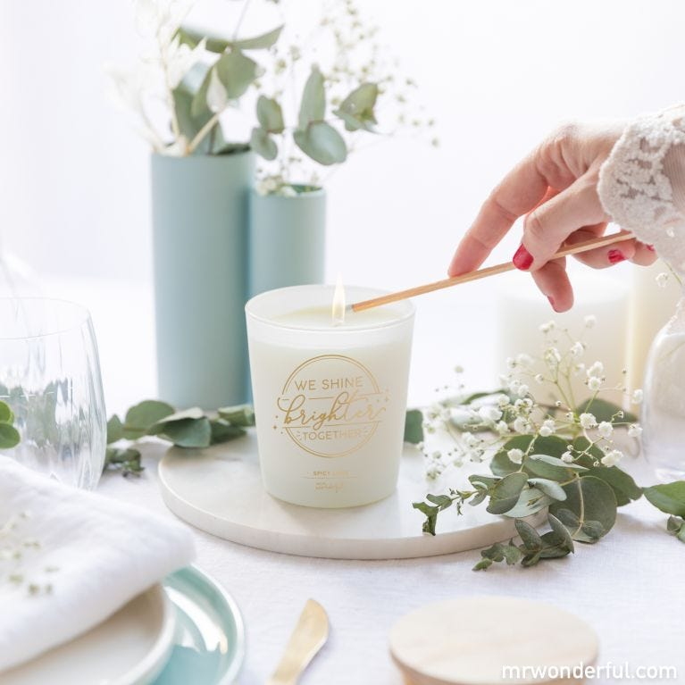 Candle – We shine brighter together