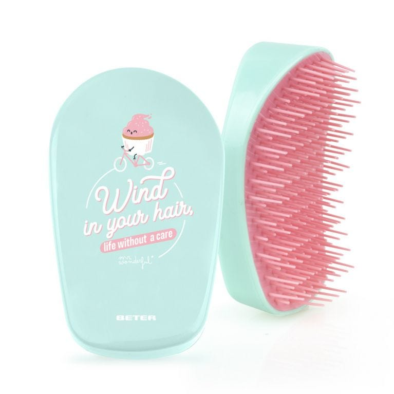 Hair brush - Wind in your hair, life without a care