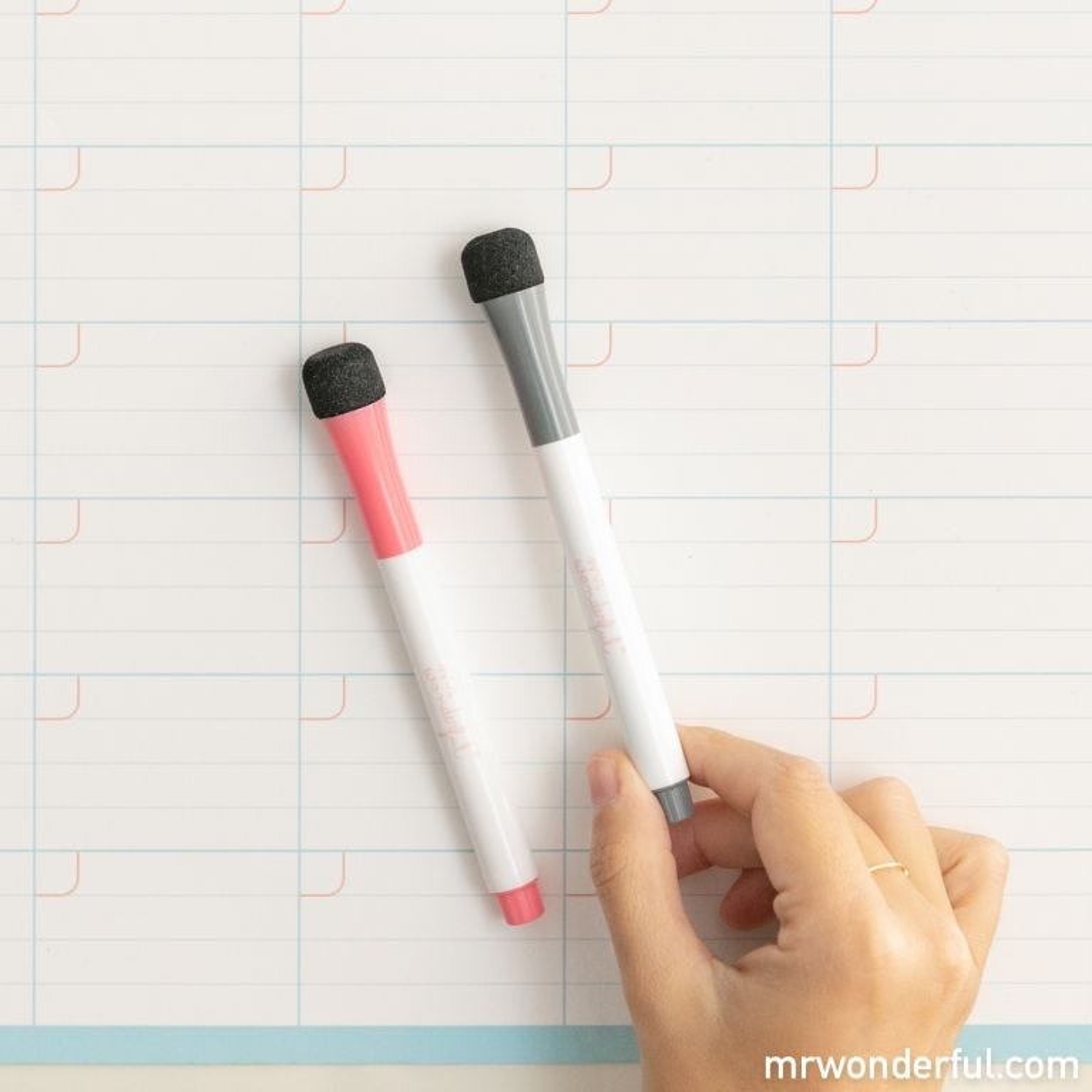 Planner mensile tipo lavagnetta magnetica