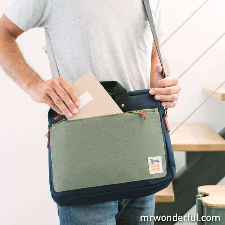 Shoulder bag - Today will be my day