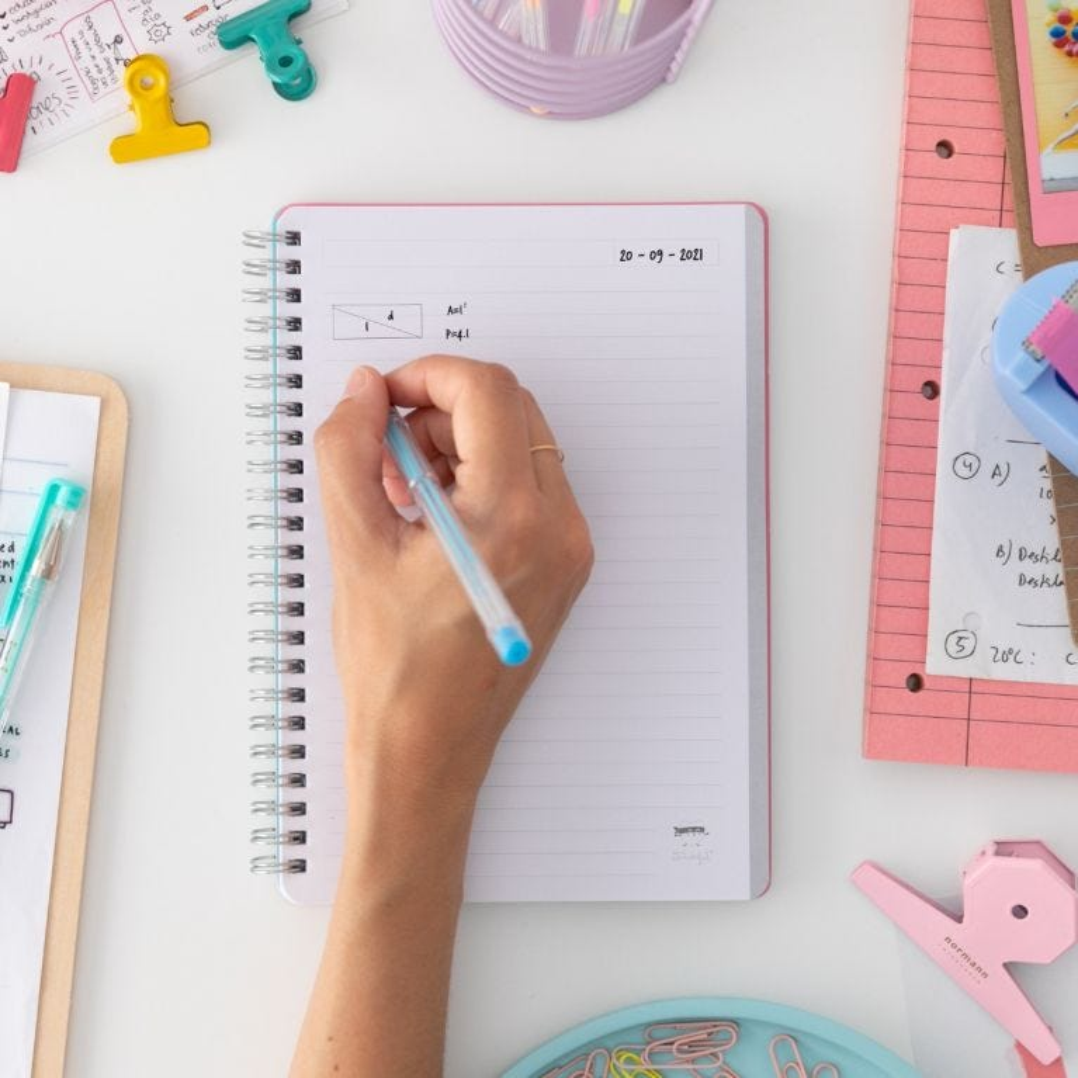 Caderno pequeno - Se o digo, consigo