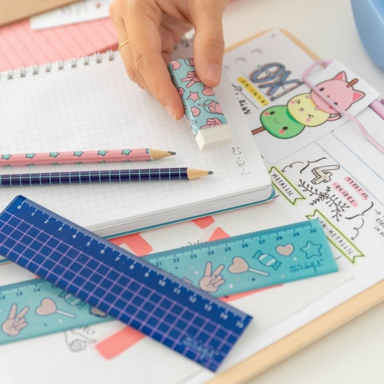 Set of rulers to measure your success