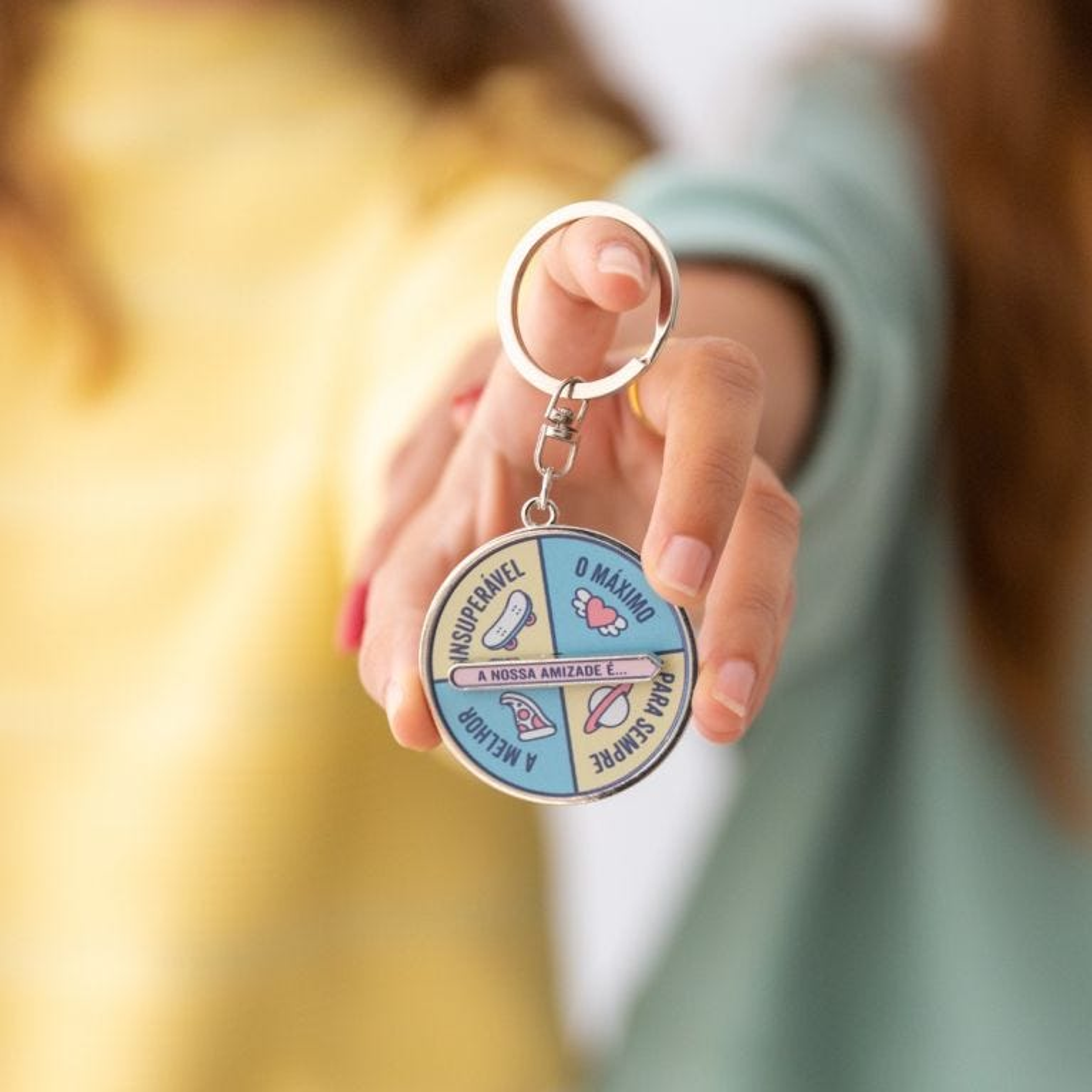 Porta-chaves - A nossa amizade é...
