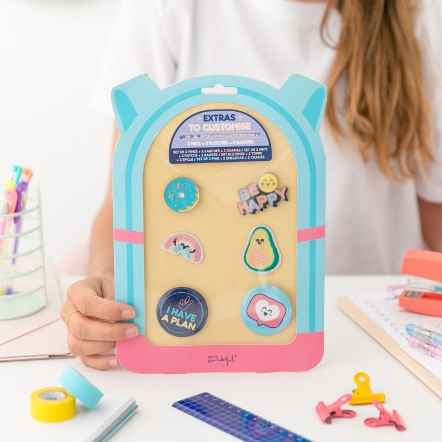 Extras para personalizar tu mochila y accesorios - I have a plan