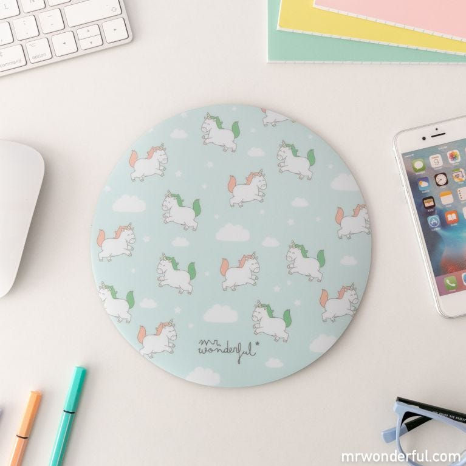 Mouse pad - Unicorns