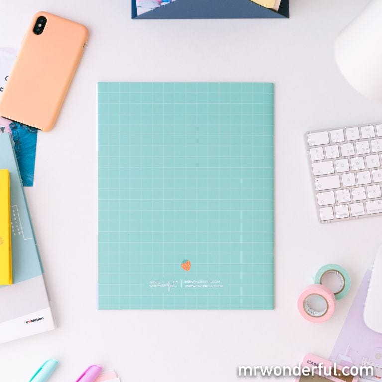 Set of two A4 notebooks