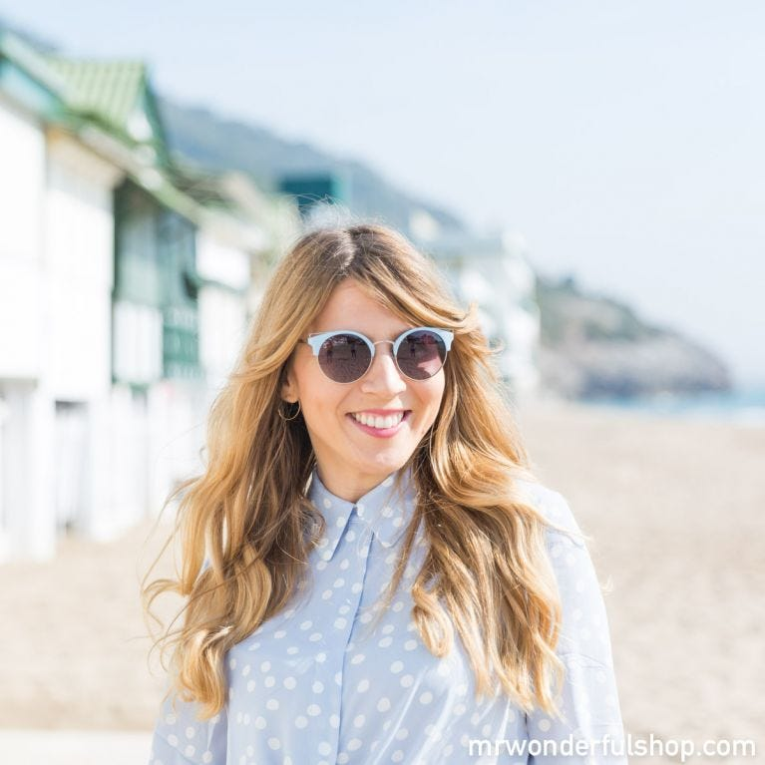 Sunglasses - Blue skyline