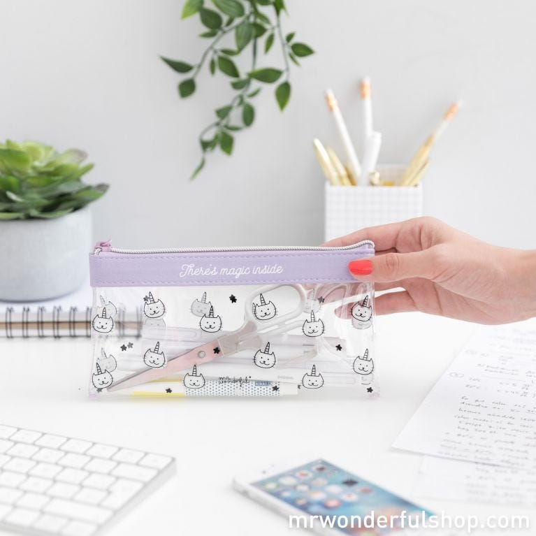 Pencil case - There's magic inside