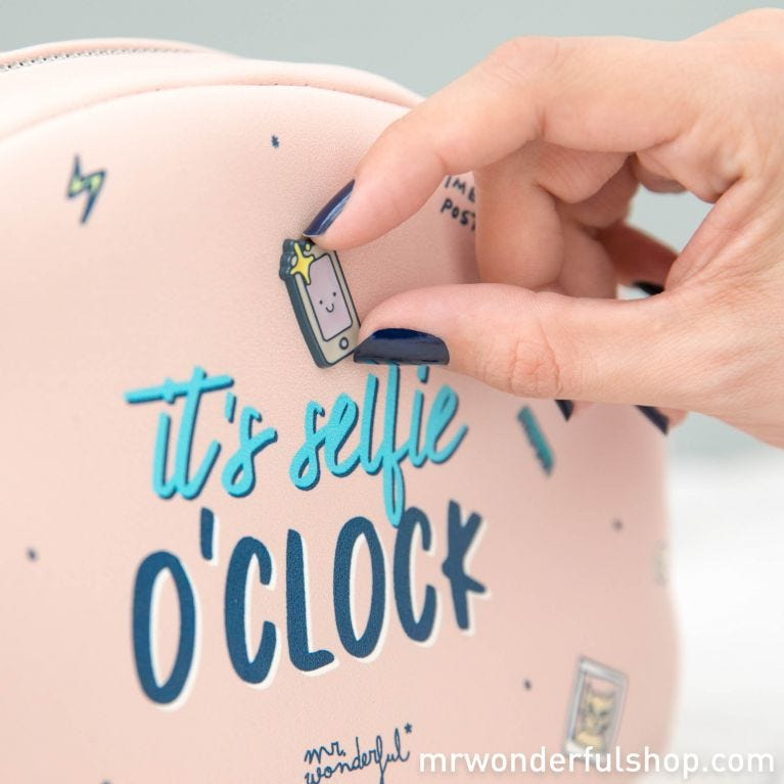 Toiletries bag - It's selfie o'clock