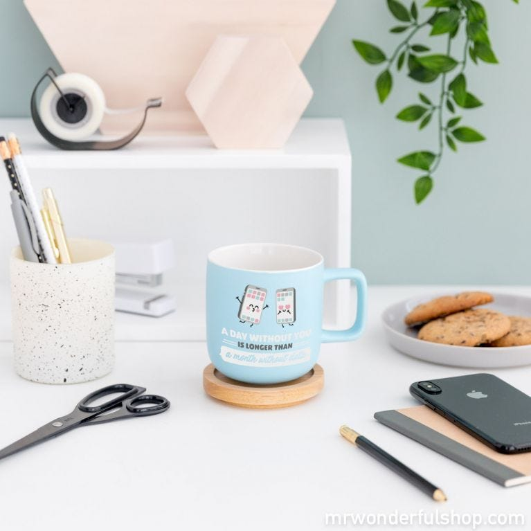 Mug - A day without you is longer than a month without data