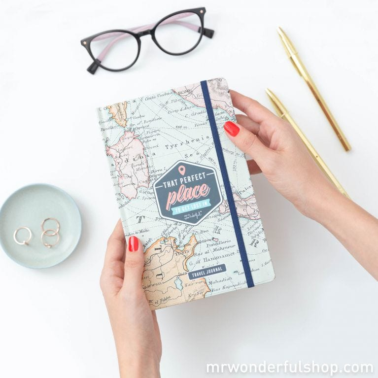 Travel journal - That perfect place to get lost in