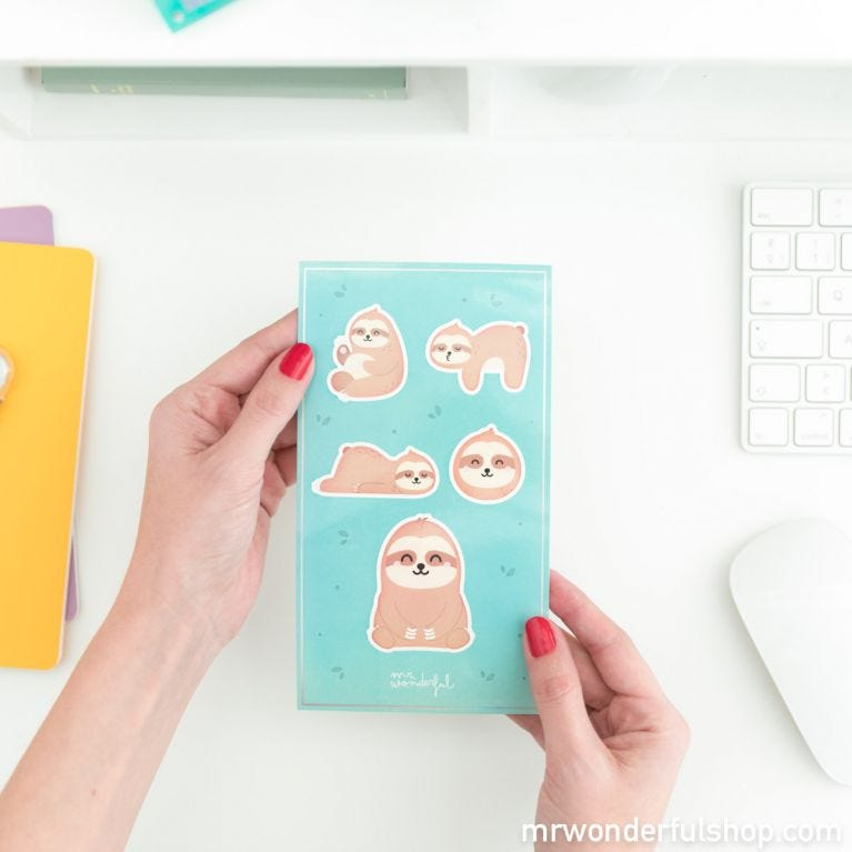 iPhone X/XS case - Sloth - Slow Collection