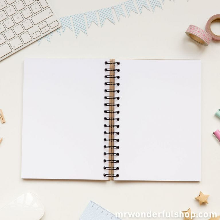 Notebook whith superpowers that will make my recipes come out like my mother's (ENG)