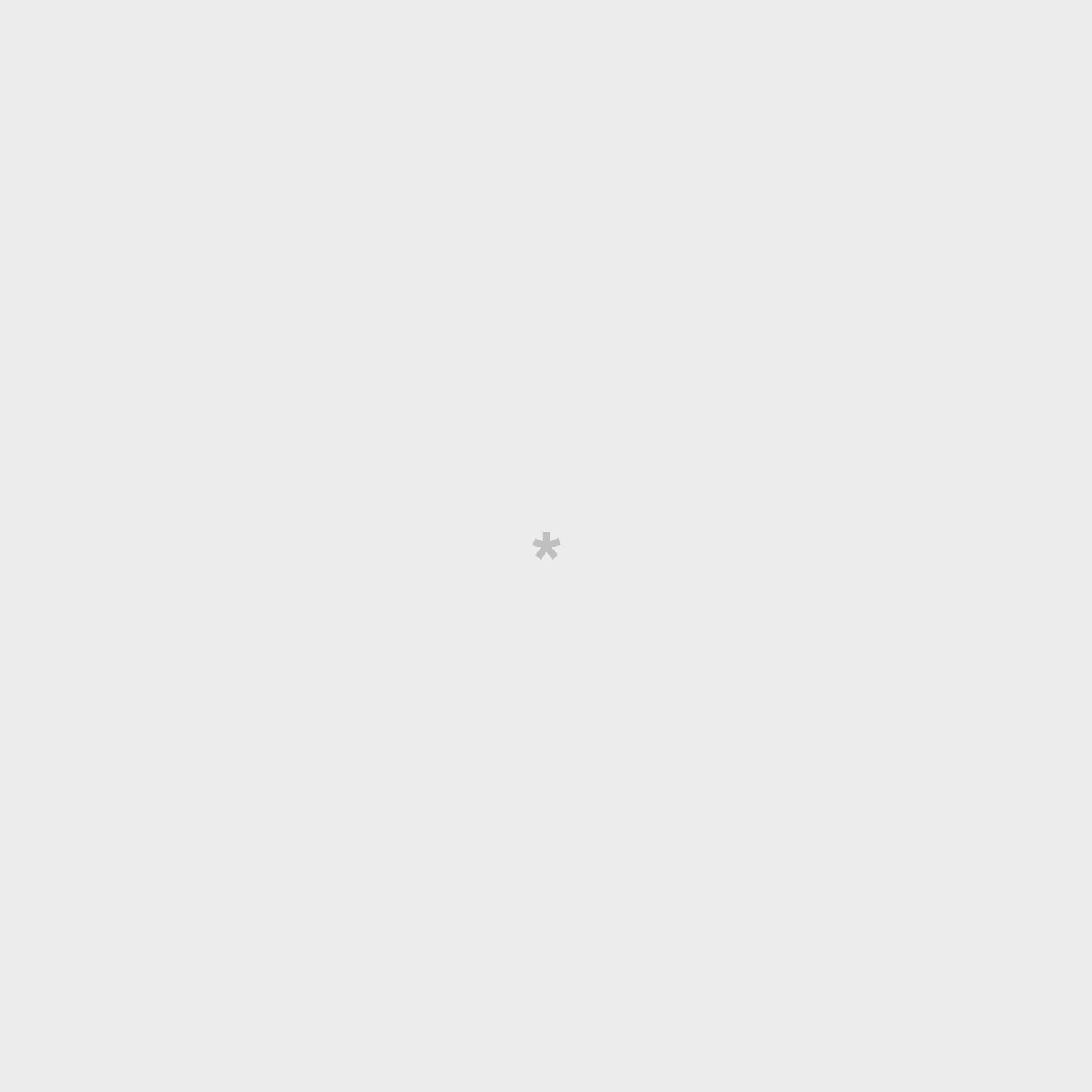 Medium-sized umbrella grey with a cloud pattern