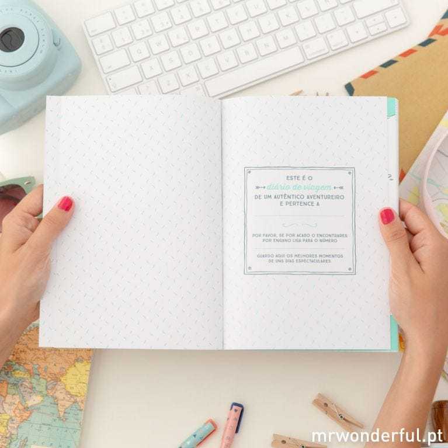 Caderno de viagem - À descoberta dos meus novos lugares preferidos