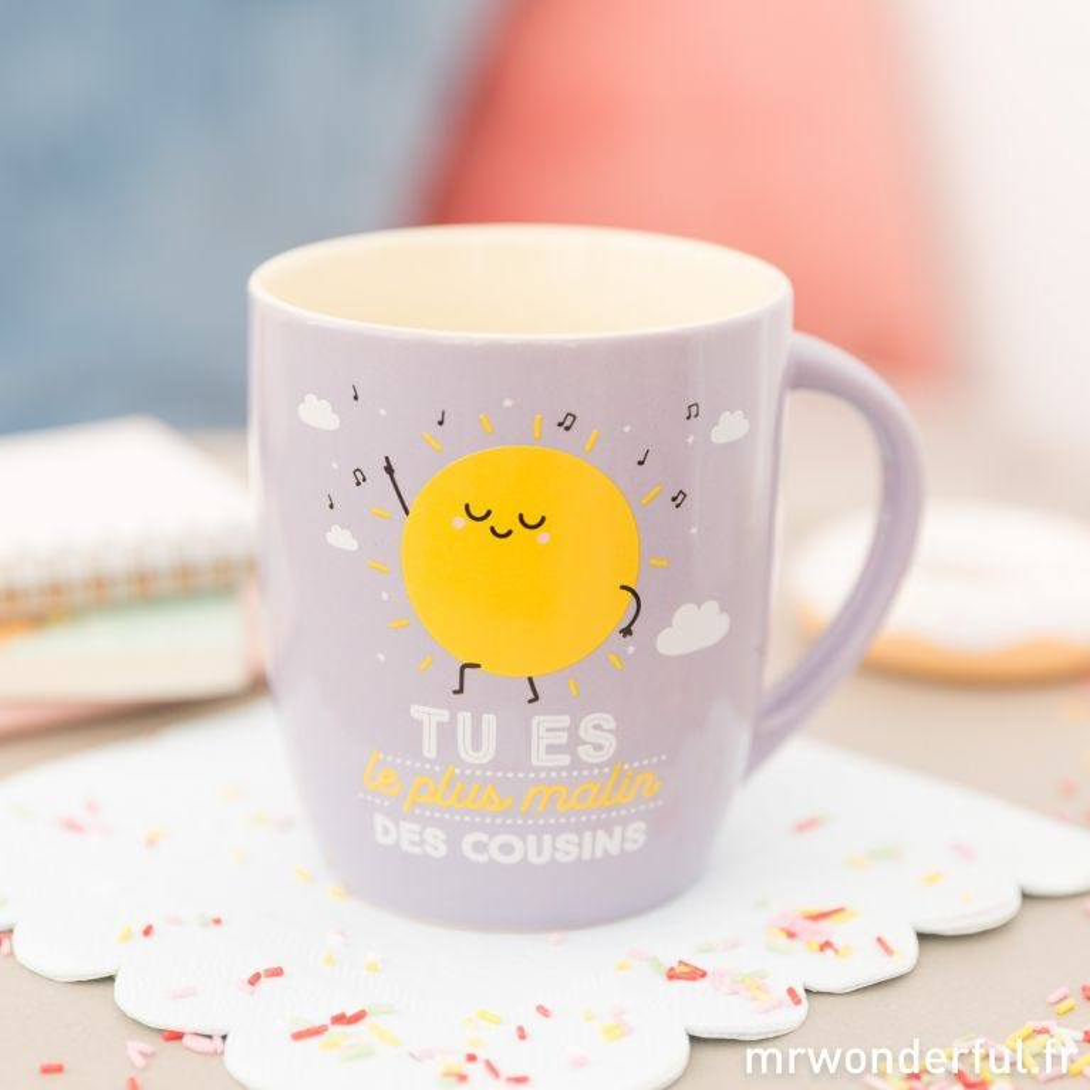 Mug - Tu es le plus malin des cousins (FR)