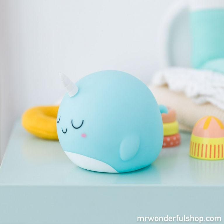 A magical light to give you sweet dreams - Narwhal