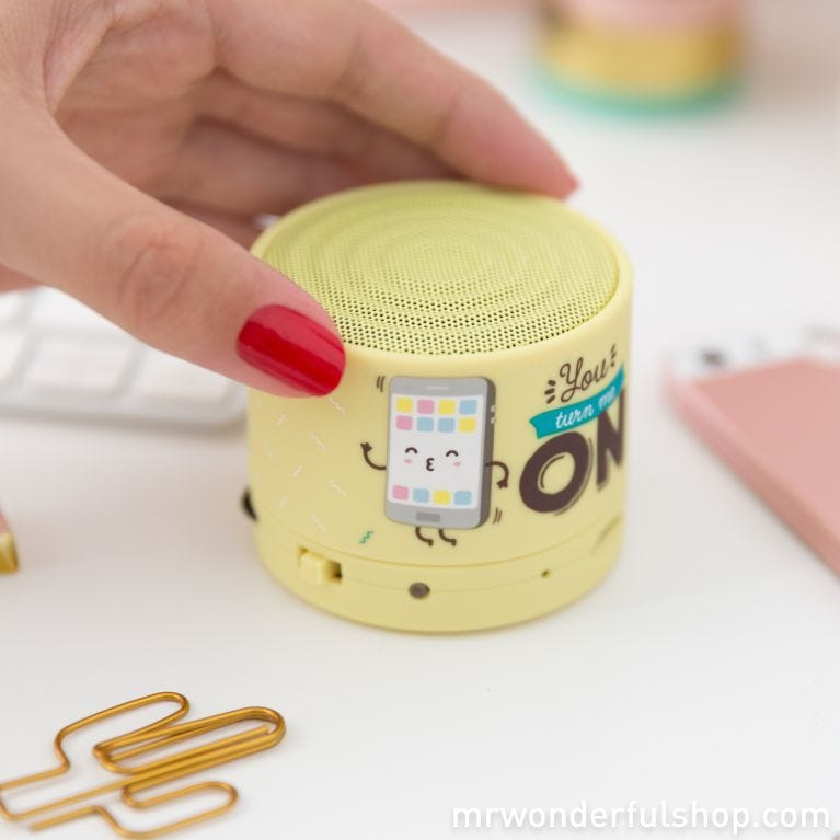 Bluetooth speaker - You turn me on (ENG)