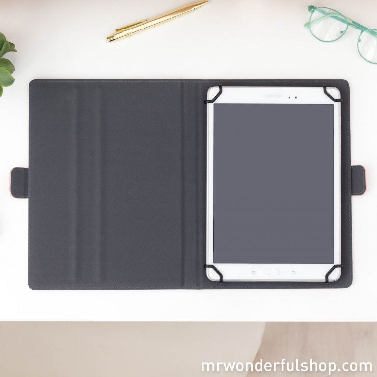 """Universal cover for 9.7"""" to 10.1"""" tablet - Yeah baby, I have everything under CTRL (ENG)"""